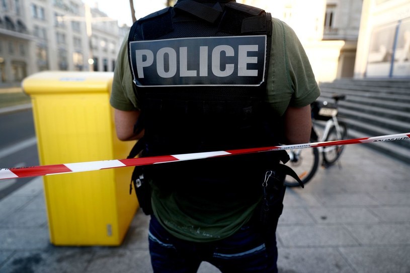 Francuska policja; zdj. ilustracyjne /Sameer Al-Doumy / AFP /AFP