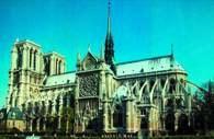 Francuska sztuka: Paryż, katedra Notre Dame /Encyklopedia Internautica