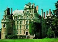 Francuska sztuka: zamek w Brissac nad Loarą /Encyklopedia Internautica