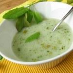 Francuska zupa z młodego szczawiu