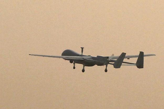 Francuski dron biorący udział w misji w Afganistanie /AFP