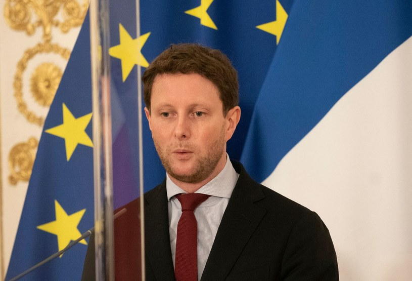 Francuski minister ds. europejskich Clement Beaune /Clement Beaune /AFP