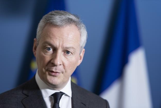 Francuski minister finansów Bruno Le Maire /EPA