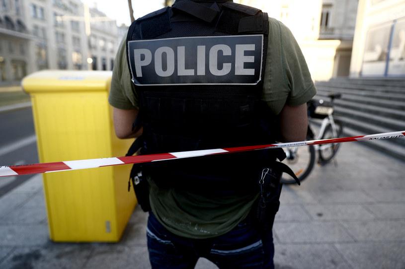 Francuski policjant,. zdjęcie ilustracyjne /Sameer Al-Doumy / AFP /AFP