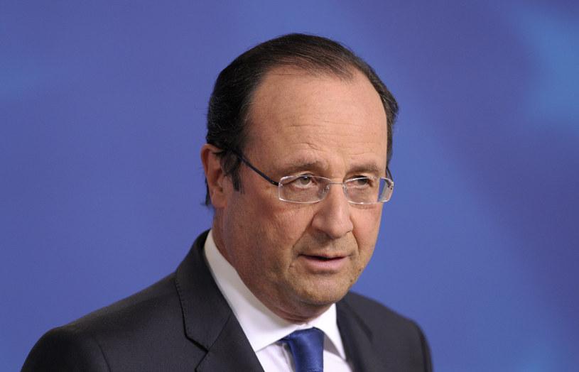 Francuski prezydent Francois Hollande /AFP