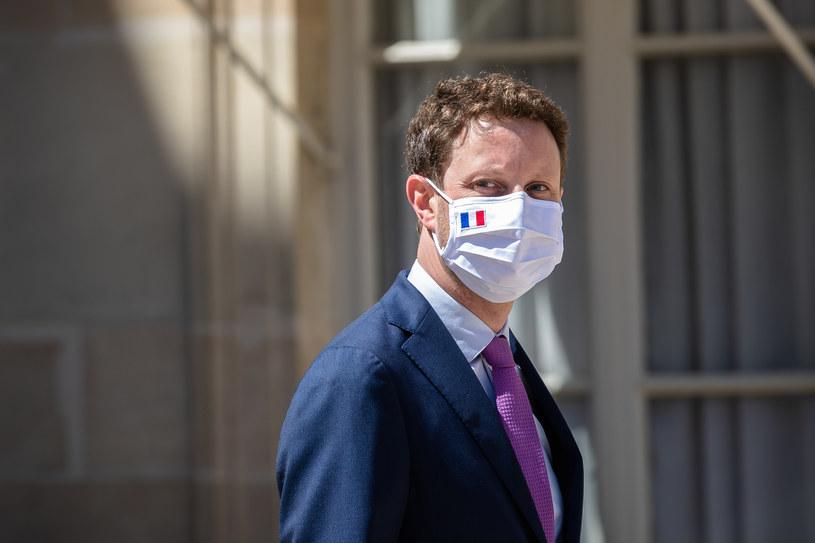Francuski sekretarz stanu ds. europejskich Clément Beaune. /Aurelien Morissard /Agencja FORUM