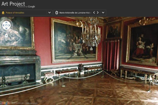 Francuski Wersal - jedno z kilku muzeów dostępnych w Google Art Project /materiały prasowe