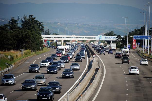 Francuskie autostrady są za drogie /AFP