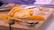 Francuskie naleśniki crêpe suzette z pomarańczami