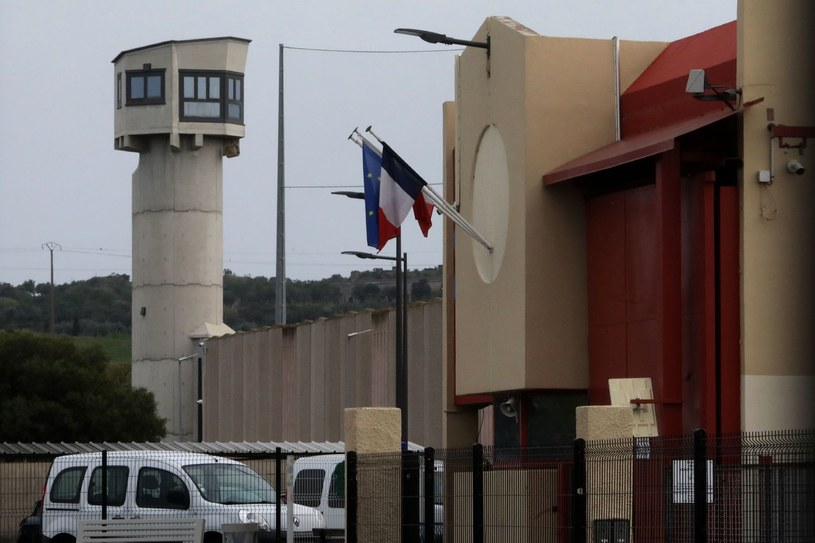 Francuskie więzienie Perpignan /RAYMOND ROIG  /AFP