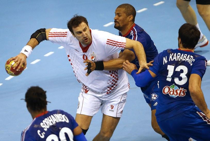 Francuzi odpadli, Chorwaci powalczą o medale /AFP