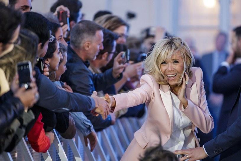Francuzi pokochali Brigitte Macron /Associated Press /East News