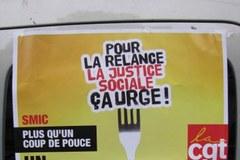 """Francuzi wyszli na ulice. """"Precz z Hollandem i unijnym zaciskaniem pasa!"""""""