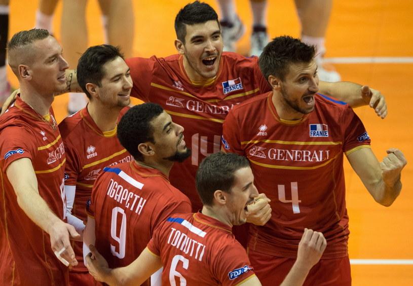 Francuzi zapewnili sobie awans do półfinału z pierwszego miejsca /PAP/EPA
