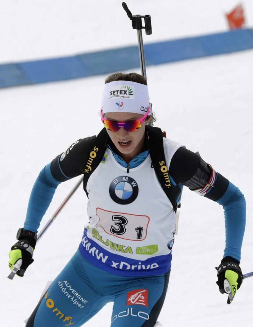 Francuzka Anais Chevalier wygrała w Novym Mescie zawody biathlonowego Pucharu Świata /fot. Antonio Bat /PAP