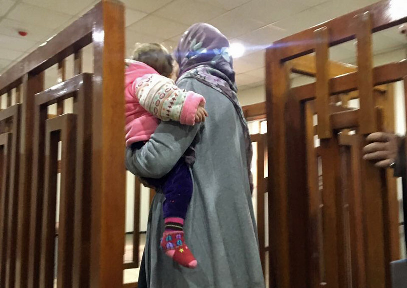 Francuzka Melina Boughedir skazana na dożywocie /STRINGER /AFP