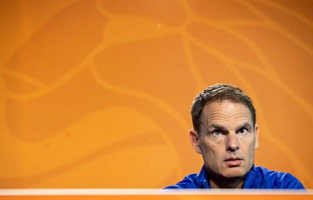 Frank de Boer ogłosił skład reprezentacji Holandii na Euro 2020 /KOEN VAN WEEL /PAP/EPA