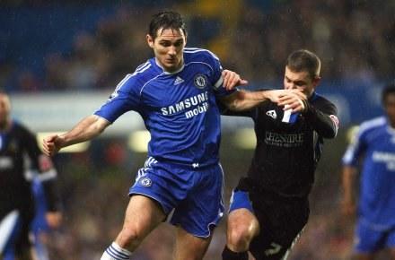 Frank Lampard był nie do zatrzyamania dla piłkarzy gości /AFP