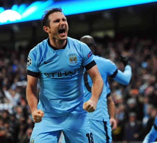 Frank Lampard strzelił gola dla Manchesteru City /PAP/EPA