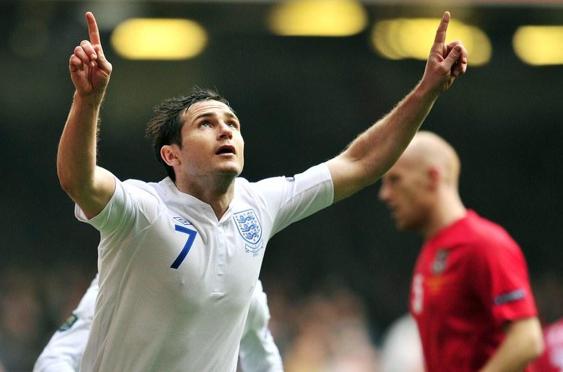 Frank Lampard wraca do kadry po kontuzji /AFP