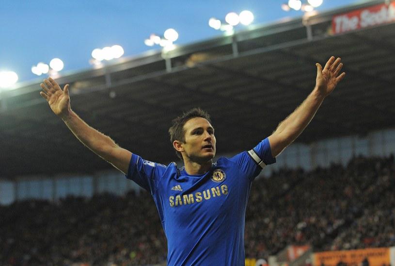 Frank Lampard żegna się z Chelsea Londyn /AFP