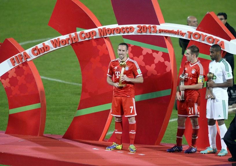Frank Ribery chce świętować kolejne tytuły z Bayernem Monachium /AFP