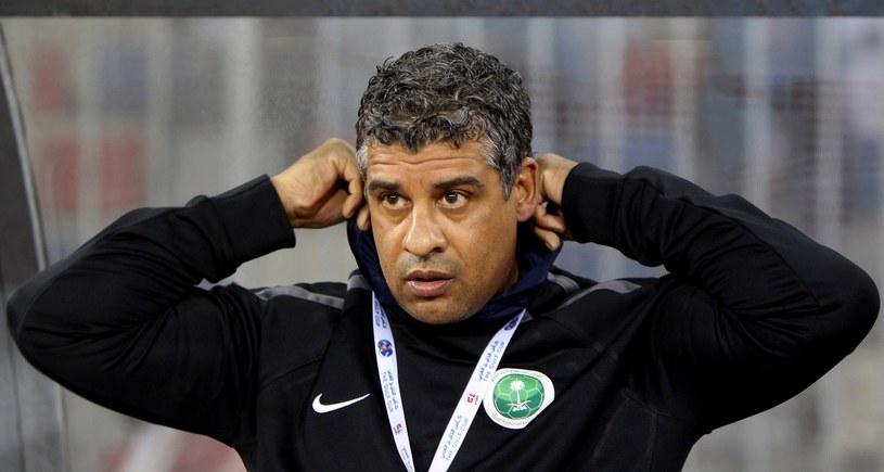 Frank Rijkaard jako selekcjoner reprezentacji Arabii Saudyjskiej /AFP