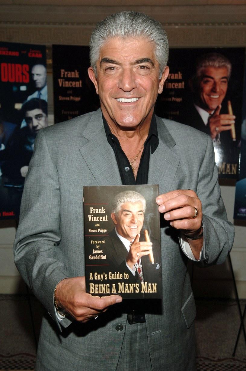 "Frank Vincent na promocji swej książki ""A Guy's Guide To Being a Man's Man"" (2006, Nowy Jork) /Bryan Bedder /Getty Images"