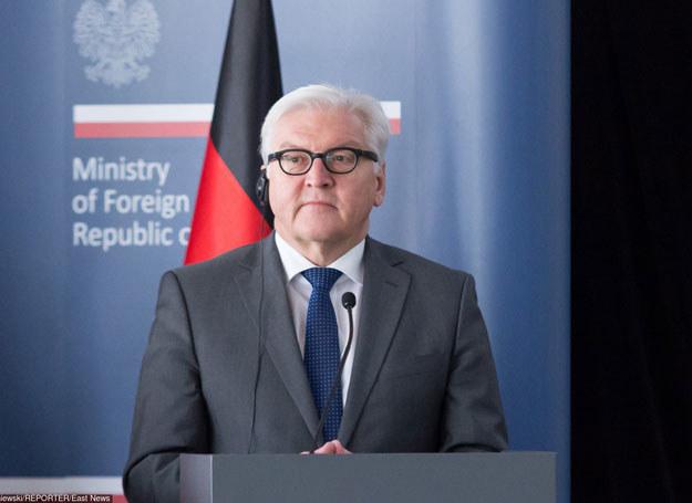 Frank-Walter Steinmeier /KRZYSZTOF ZATYCKI/REPORTER /East News