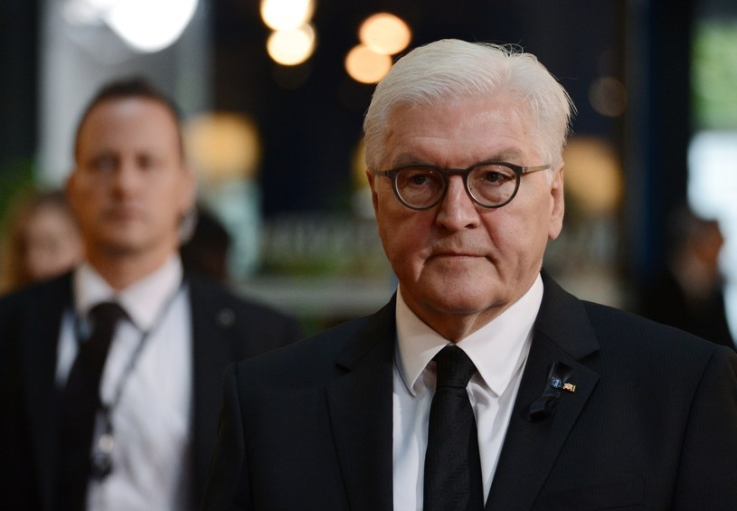 Frank-Walter Steinmeier /Aleksiej Witwicki /East News