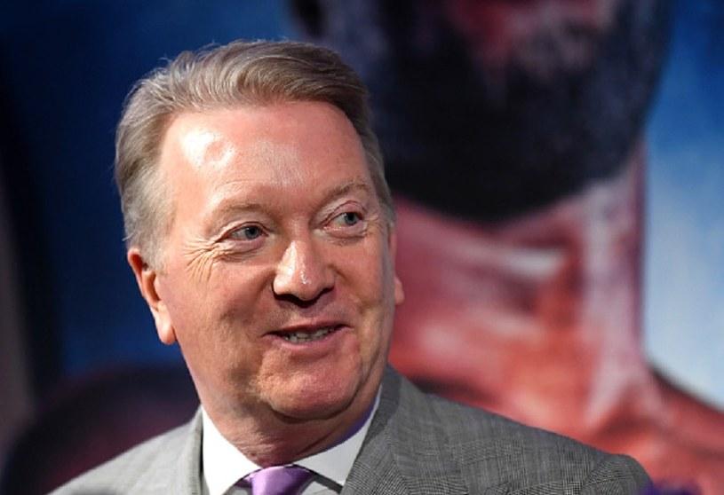 Frank Warren, promotor Tysona Fury'ego /Alex Davidson /Getty Images
