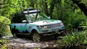 Frankfurt 2013 - hybrydowy Range Rover i Range Rover Sport