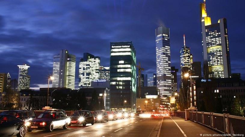 Frankfurtowi daleko do Londynu, ale ma szanse /picture alliance /Deutsche Welle