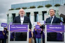 Frans Timmermans: Jeśli chcecie być w sercu Europy, zaakceptujcie zasady UE