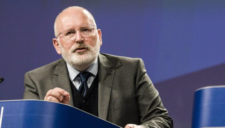 Frans Timmermans / Wiktor Dąbkowski    /PAP