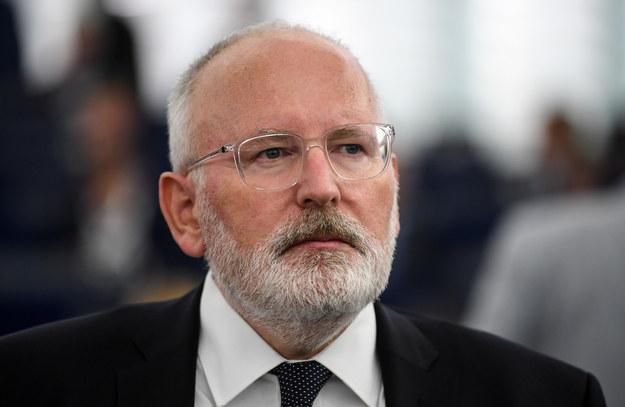 Frans Timmermans /Patrick Seeger  /PAP/EPA