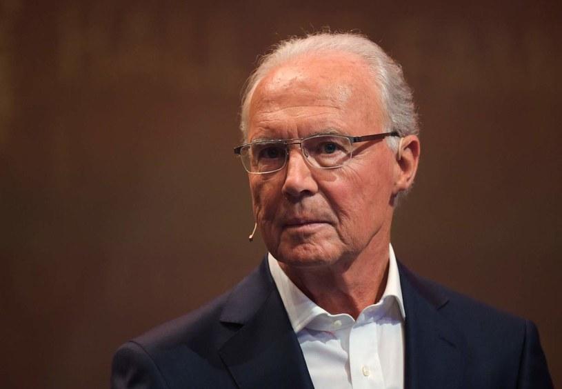 Franz Beckenbauer - były obrońca reprezentacji Niemiec. Mistrz świata z 1974 roku. /AFP