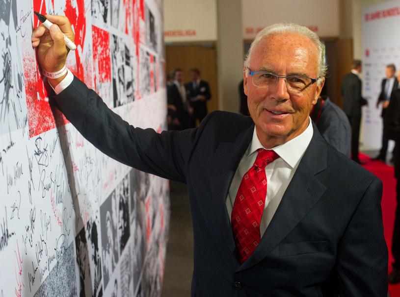 Franz Beckenbauer, legenda futbolu /AFP