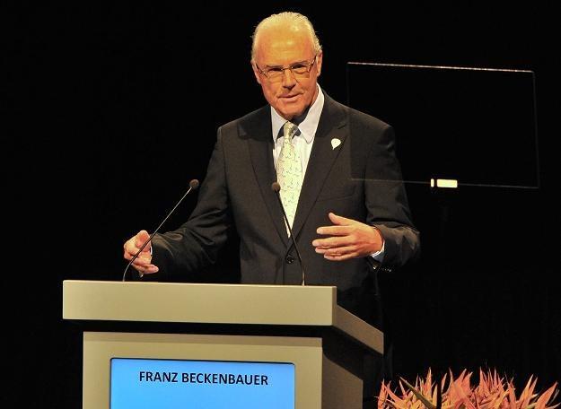 Franz Beckenbauer optuje za Monachium /AFP