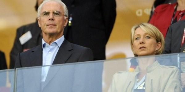 Franz Beckenbauer widzi swoich rodaków w finale /AFP
