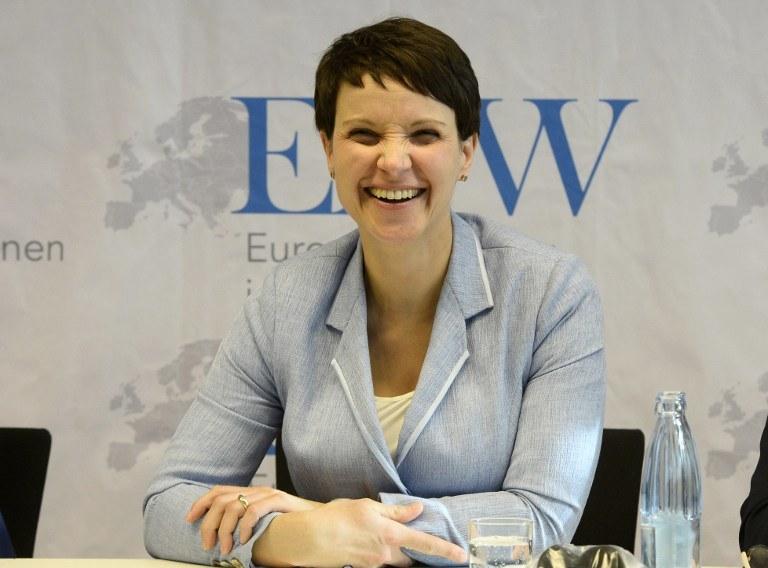 Frauke Petry /AFP