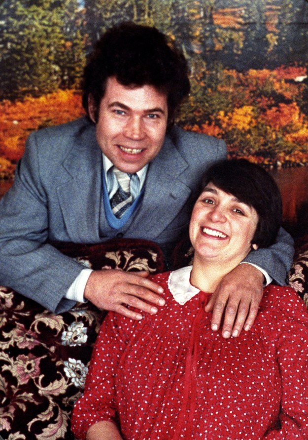 Fred i Rosemary West /PA /PAP/PA