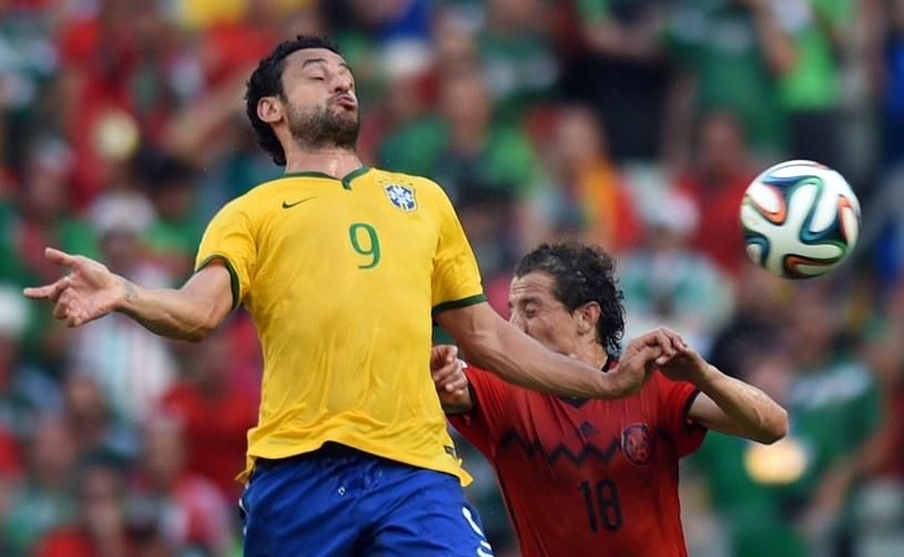 Fred jest jedynym zawodnikiem Fluminense w obecnej kadrze Brazylii /AFP