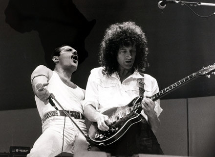 Freddie Mercury i Brian May /Getty Images/Flash Press Media