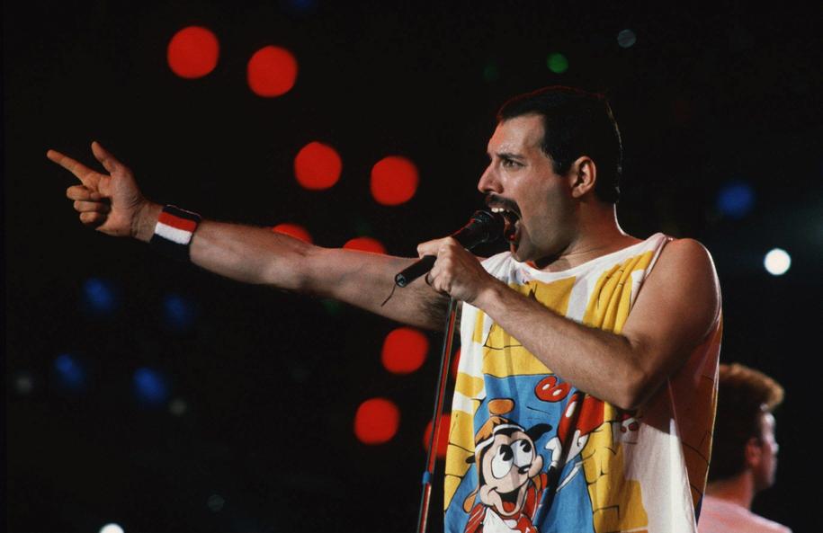 Freddie Mercury na zdjęciu z 1980 roku /DPA /PAP