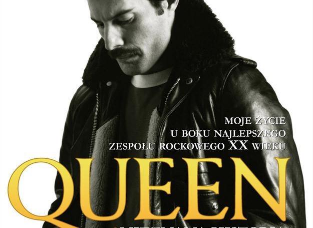 Freddie Mercury (Queen) na okładce książki Petera Hince'a /