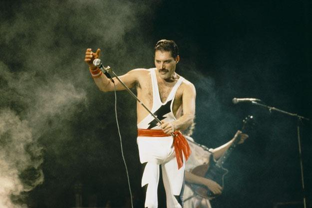 """Freddie Mercury: """"Wierzył, że znajdzie się lekarstwo"""" fot. Dave Hogan /Getty Images/Flash Press Media"""