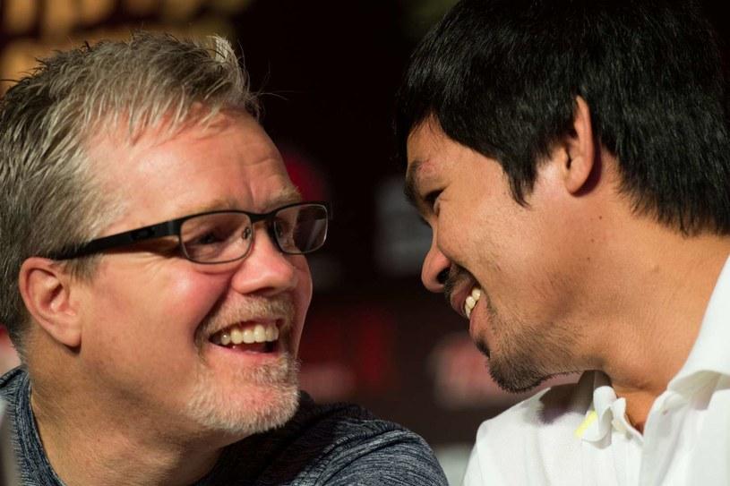 Freddie Roach i Manny Pacquiao /AFP