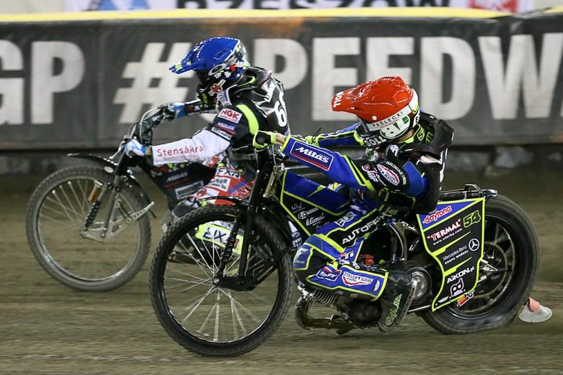 Fredrik Lindgren i Martin Vaculik /Jarosław Pabijan /Newspix