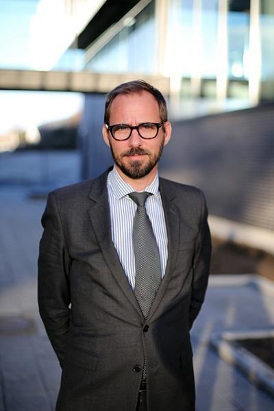 Fredrik Tangeraas, dyrektor corporate communications /